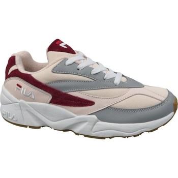 Skor Dam Sneakers Fila 94 Wmn Low Gråa, Beige