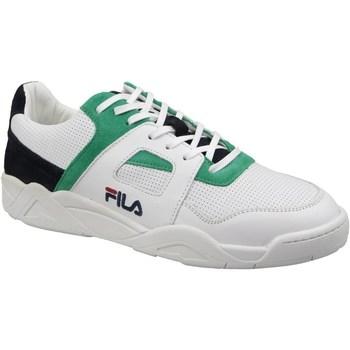 Skor Herr Sneakers Fila Cedar CB Low Vit, Gröna