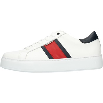 Skor Herr Sneakers Exton 861 White red and blue