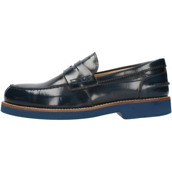 Skor Herr Loafers Exton 2102 Blue