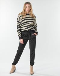 textil Dam Chinos / Carrot jeans JDY JDYCATIA Svart