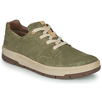 Skor Herr Sneakers Caterpillar RIALTO NUBUCK Grön