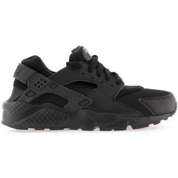 Skor Pojkar Löparskor Nike Huarache Run GS Svarta