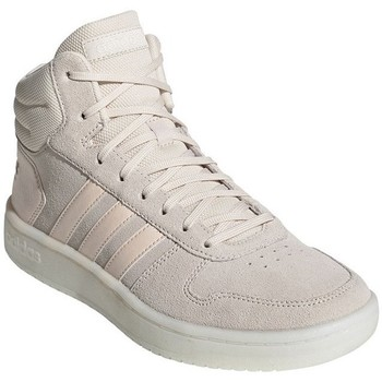 Skor Dam Höga sneakers adidas Originals Hoops 20 Mid Beige