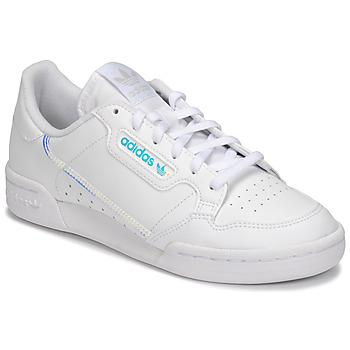 Skor Barn Sneakers adidas Originals CONTINENTAL 80 J Vit