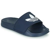 Skor Barn Flipflops adidas Originals ADILETTE LITE J Marin / Vit