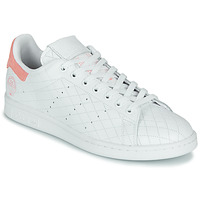 Skor Sneakers adidas Originals STAN SMITH W Vit / Rosa
