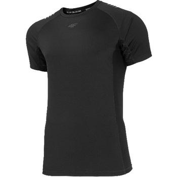 textil Herr T-shirts 4F Men's Functional T-shirt Noir