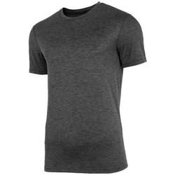textil Herr T-shirts 4F NOSH4TSMF00390M Grafit