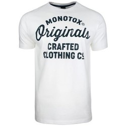 textil Herr T-shirts Monotox Originals Crafted Vit