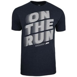 textil Herr T-shirts Monotox ON The Run Svarta