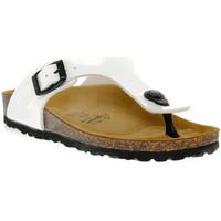 Skor Pojkar Flip-flops Gold Star BIANCO VERNICE Bianco