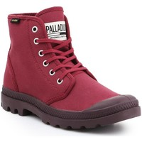 Skor Herr Höga sneakers Palladium Manufacture Pampa HI Oryginale 75349-604-M burgundy