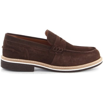 Skor Herr Loafers Paolo Da Ponte SG00E Brown