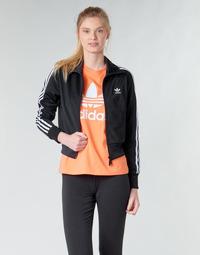 textil Dam Sweatjackets adidas Originals FIREBIRD TT Svart
