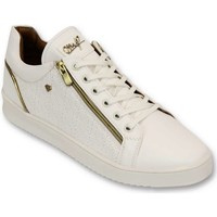 Skor Herr Sneakers Cash Money Mens Skor Maya Helt CMS T Vit