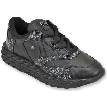 Skor Herr Sneakers Cash Money Mens Skor Touch Black Svart