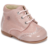 Skor Flickor Boots Citrouille et Compagnie NONUP Rosa
