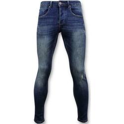 textil Herr Skinny Jeans True Rise Classic Jeans D Blå