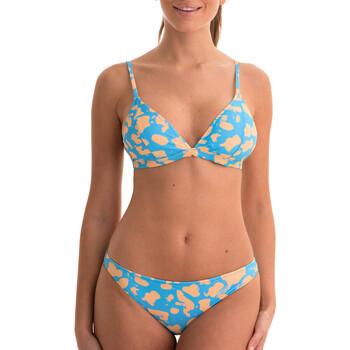 textil Dam Bikini Back Bloom BB200 BLEU Blå
