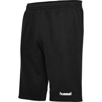 textil Herr Shorts / Bermudas Hummel Short  hmlGO cotton noir