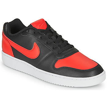 Skor Herr Sneakers Nike EBERNON LOW Svart / Röd