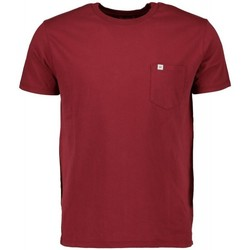 textil Herr Kortärmade pikétröjor Scout M/m  T-shirt (10584-bordeaux) Bordeaux