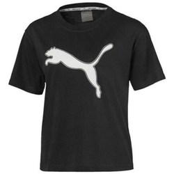textil Dam T-shirts Puma Modern Sports Logo Tee Svarta