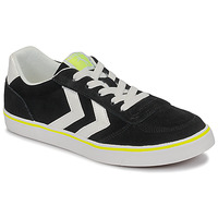 Skor Barn Sneakers Hummel STADIL 3.0 JR Svart / Vit