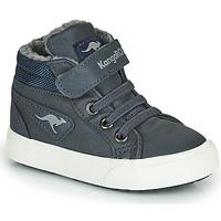 Skor Pojkar Höga sneakers Kangaroos KAVU I Blå