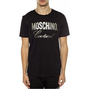 textil Herr T-shirts Moschino ZPA0715 Svart