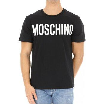 textil Herr T-shirts Moschino ZPA0705 Svart