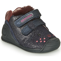 Skor Flickor Sneakers Biomecanics BOTIN ELASTICO Marin