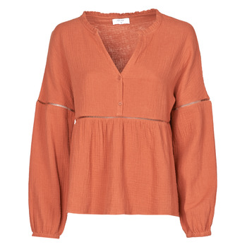 textil Dam Blusar Betty London NASSE Rostfärgad