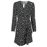textil Dam Korta klänningar Betty London NOELINE Svart / Vit