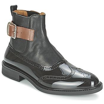 Skor Herr Boots Vivienne Westwood BROGUE BOOT Svart