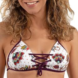 textil Dam Bikinibyxa / Bikini-bh LPB Woman 005 / HAUT COOL Vit