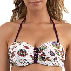 textil Dam Bikinibyxa / Bikini-bh LPB Woman 0011 / HAUT COOL Vit