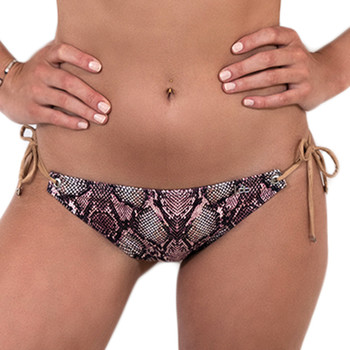 textil Dam Bikinibyxa / Bikini-bh LPB Woman 005BAS / SNAKE ROSE Rosa