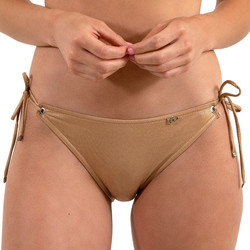 textil Dam Bikinibyxa / Bikini-bh LPB Woman 005BAS / METAL ROSE Beige
