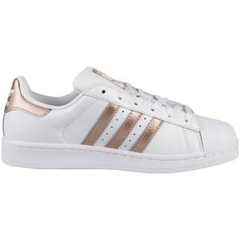 Skor Dam Sneakers adidas Originals Superstar W Vit,Guld