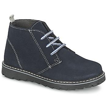 Skor Pojk Boots Citrouille et Compagnie LEQUIN Blå