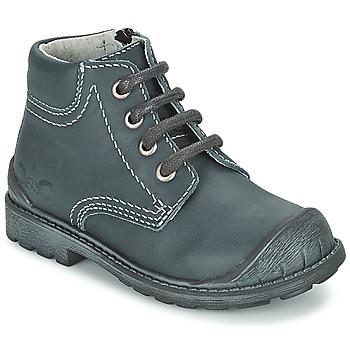 Skor Pojk Boots Citrouille et Compagnie BRINDIL Marin