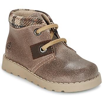 Skor Pojkar Boots Citrouille et Compagnie ZANZIB Mullvadsfärgad