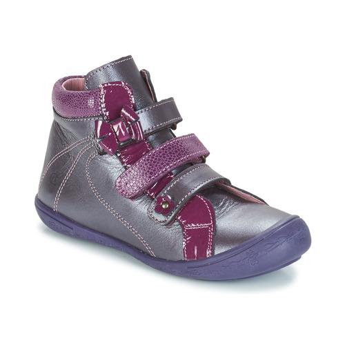 Skor Flickor Höga sneakers Citrouille et Compagnie FALIE Violett