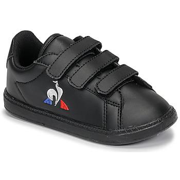 Skor Barn Sneakers Le Coq Sportif COURTSET INF Svart