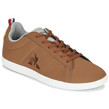 Skor Sneakers Le Coq Sportif COURTCLASSIC GS Brun