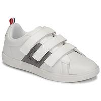 Skor Barn Sneakers Le Coq Sportif COURTCLASSIC PS Vit