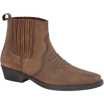 Skor Herr Boots Woodland  Fet brun