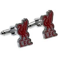 Klockor & Smycken Herr Manschettknappar Liverpool Fc  Silver/Röd
